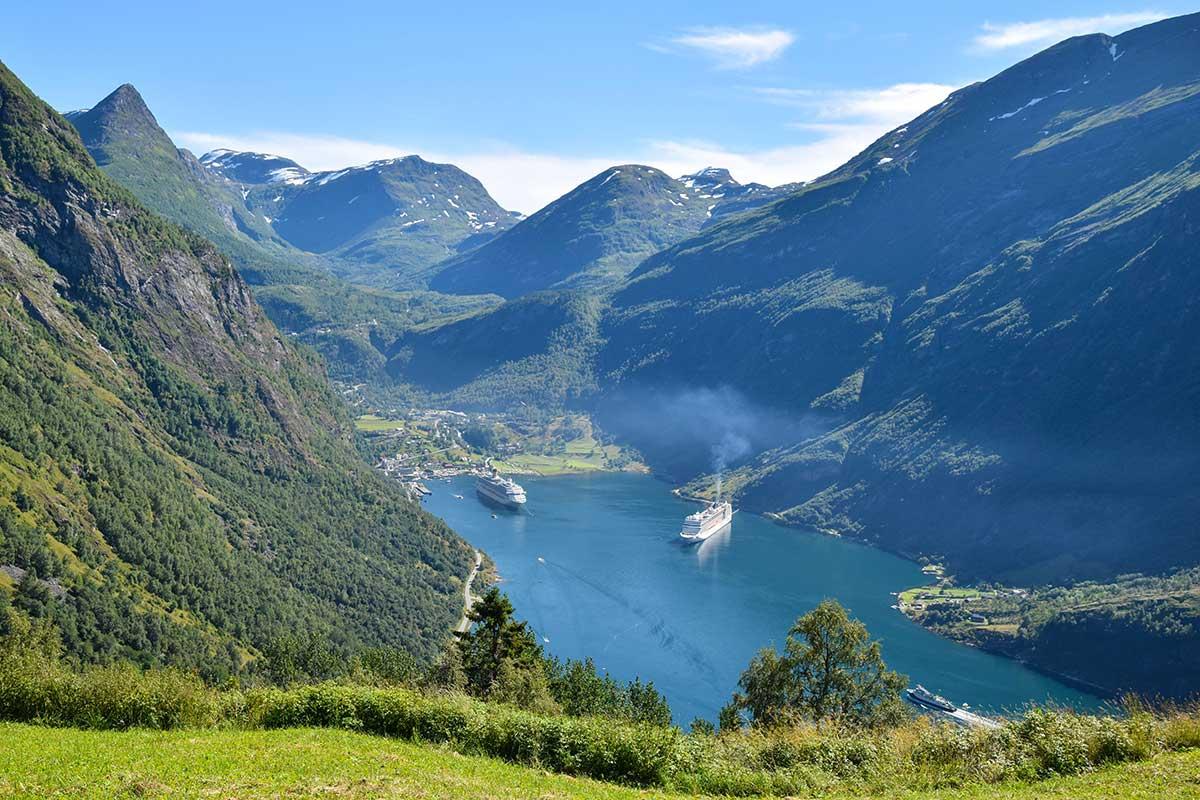 Motorradreise Norwegen