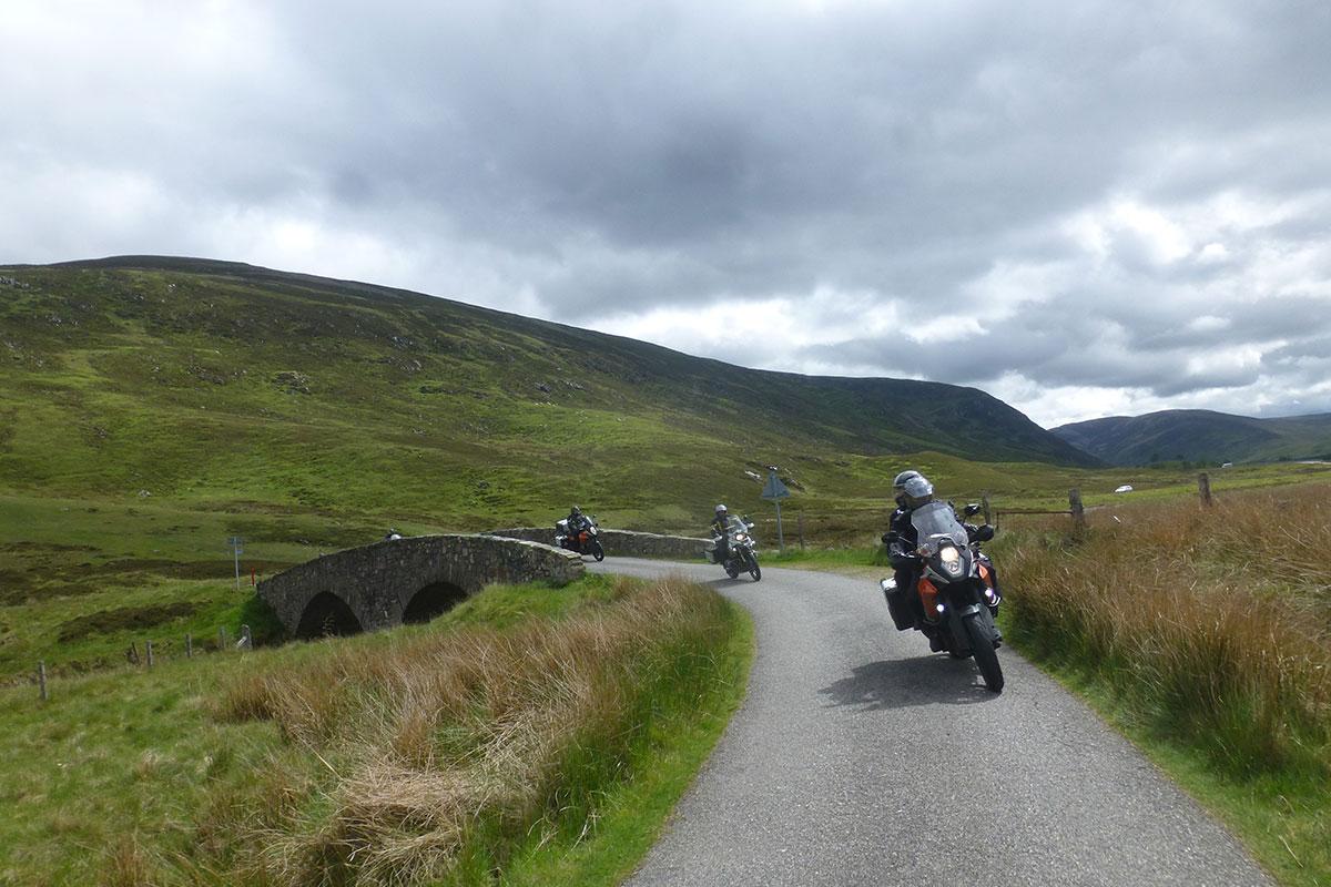 Motorradreise Schottland