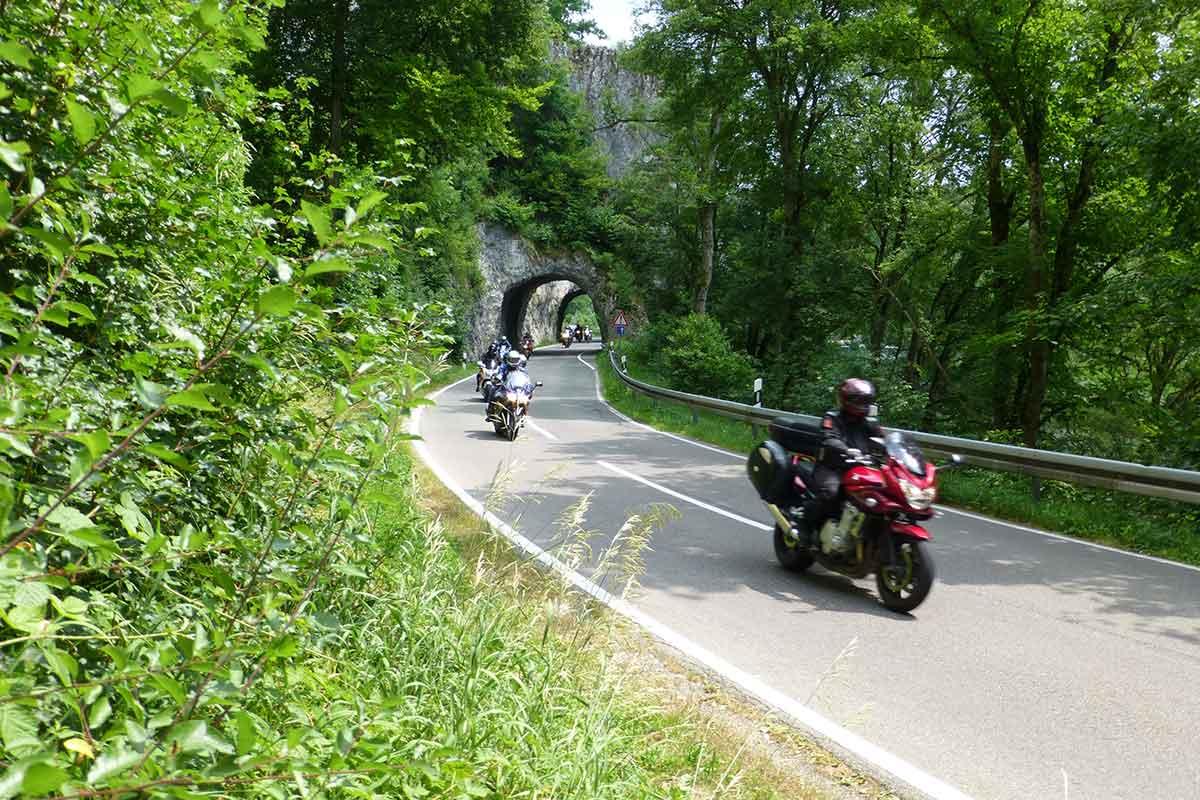 Motorradreise Schwarzwald
